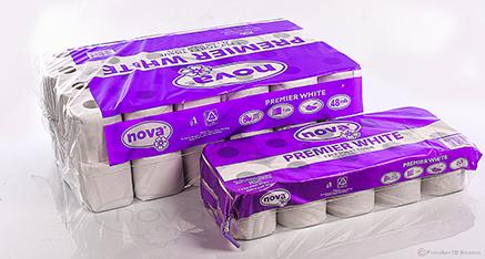 Premier White Toilet Tissue 1Ply